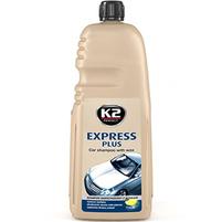 K2 Express Plus Szampon samochodowy z woskiem