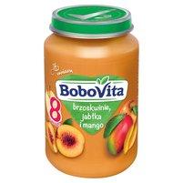 BOBOVITA Brzoskwinie jabłka i mango po 8. m-cu