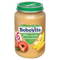 BOBOVITA Jabłka banany i pomarańcze po 6. m-cu