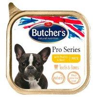 Butcher's Pro Series Karma dla psów dorosłych pasztet z drobiem i wołowiną 150 g