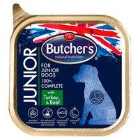 BUTCHER'S Junior Pełnoporcjowa karma dla szczeniąt z indykiem i wołowiną