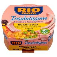 RIO MARE Insalatissime Mais e Tonno Gotowe danie z warzyw i tuńczyka