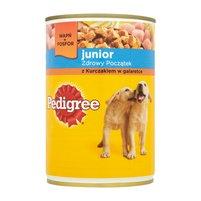 PEDIGREE Junior z kurczakiem w galaretce Karma dla psa pełnoporcjowa