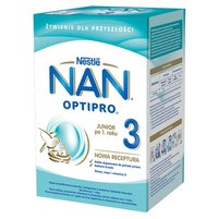 NAN OPTIPRO 3 Mleko modyfikowane dla dzieci po 1. roku (2 x 400 g)