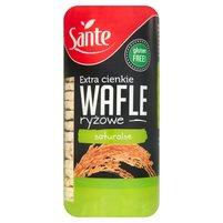 SANTE Extra cienkie wafle ryżowe naturalne