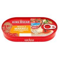 KING OSCAR Filety z makreli w sosie pomidorowym z chilli