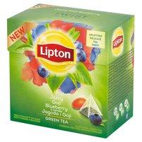 LIPTON o smaku Jagoda i Goji Herbata zielona aromatyzowana (20 tb.)