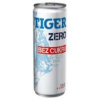 TIGER Zero Gazowany napój energetyzujący bez cukru