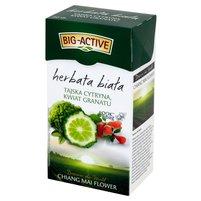 BIG-ACTIVE Herbata biała tajska cytryna i kwiat granatu (20 tb.)