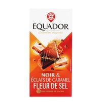 WIODĄCA MARKA Equador Czekolada z kawałkami karmelu i solą