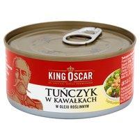 KING OSCAR Tuńczyk w kawałkach w oleju roślinnym