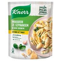 KNORR Makaron ze szpinakiem w sosie serowym