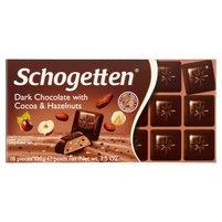 SCHOGETTEN Czekolada z kakao i orzechami laskowymi