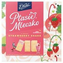 E. WEDEL Ptasie Mleczko o smaku Strawberry Shake