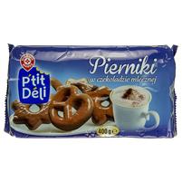 WIODĄCA MARKA P'tit deli Pierniki w czekoladzie mlecznej