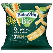 BoboVita Bio Chrupeczki kukurydziane delikatnie marchewkowe po 7 miesiącu 20 g