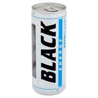 BLACK Energy Zero Sugar Gazowany napój energetyzujący bez cukru