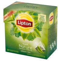 LIPTON Nature Herbata zielona (20 tb.)