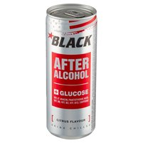 BLACK Energy After Alcohol Gazowany napój energetyzując o smaku cytrusowym