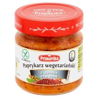 PRIMAVIKA Paprykarz wegetariański z quinoa czerwoną