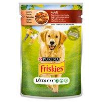 FRISKIES Vitafit Adult z jagnięciną i marchewką w sosie Karma dla dorosłych psów