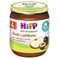 HiPP BIO Śliwki z jabłkami po 4. m-cu
