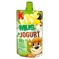 KUBUŚ Mus + Jogurt jabłko banan