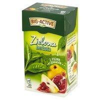 BIG-ACTIVE Zielona herbata z pigwą i granatem (20 tb.)