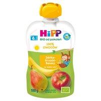 HiPP BIO Mus owocowy 100% owoców po 6. m-cu jabłka-gruszki-banany