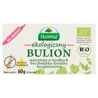 EkoWital Ekologiczny bulion warzywny w kostkach bez dodatku drożdży