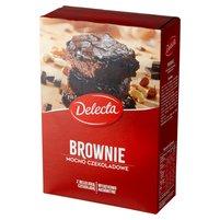 DELECTA Brownie mocno czekoladowe mieszanka do wypieku ciasta