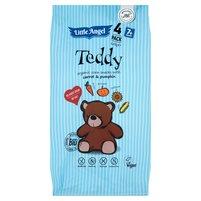 LITTLE ANGEL Teddy Pieczone chrupki kukurydziane z marchwią i dynią bio