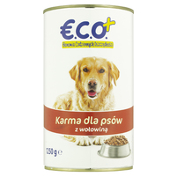 ECO+ Karma dla psów z wołowiną