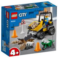 LEGO City Pojazd do robót drogowych 60284 (4+)