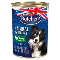BUTCHER'S Natural & Healthy Karma dla dorosłych psów kawałki w galaretce z indykiem