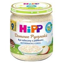 HiPP BIO Domowe Pyszności Ryż mleczny z jabłkami po 9. m-cu