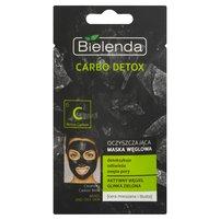 BIELENDA Carbo detox Oczyszczająca maska węglowa do cery mieszanej i tłustej