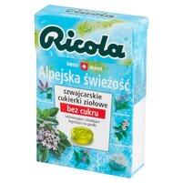 RICOLA Szwajcarskie cukierki ziołowe alpejska świeżość