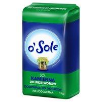 O'SOLE Sól kamienna do przetworów niejodowana