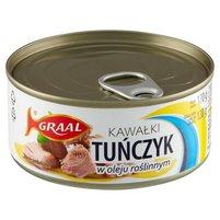 GRAAL Tuńczyk kawałki w oleju roślinnym