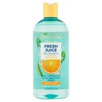 BIELENDA Fresh Juice Płyn micelarny z bioaktywną wodą cytrusową nawilżający