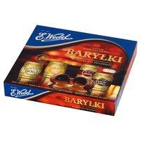 E. WEDEL Baryłki z alkoholem w czekoladzie deserowej