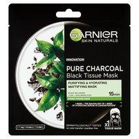 GARNIER Skin Naturals Pure Charcoal Oczyszczająca maska