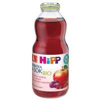 HIPP BIO Herbatka & Sok Bio z dzikiej róży z sokiem z czerwonych owoców po 4. m-cu