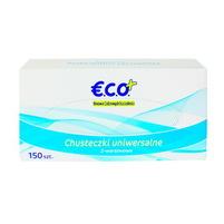 ECO+ Chusteczki uniwersalne 2-warstwowe