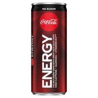 COCA-COLA Energy No Sugar Napój gazowany energetyzujący