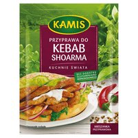 KAMIS Kuchnie świata Przyprawa kuchni arabskiej Kebab shoarma