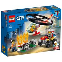 LEGO City Helikopter strażacki leci na ratunek 60248 (5+)