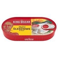 KING OSCAR Filety śledziowe w oleju