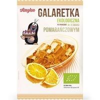AMYLON Galaretka ekologiczna w proszku o smaku pomarańczowym Bio